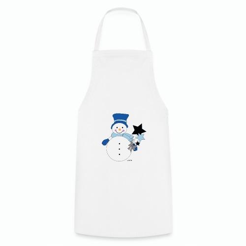 Snowtime-Blue - Kochschürze