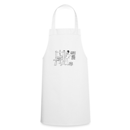 Gutenberg - Delantal de cocina
