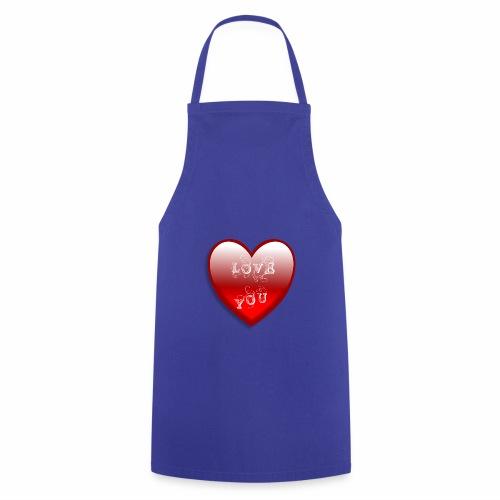 Love You - Kochschürze