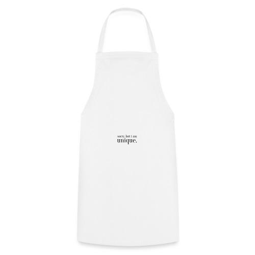 sorry but i am unique Geschenk Idee Simple - Kochschürze