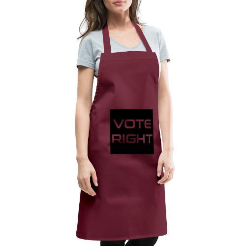 vote right - Kochschürze