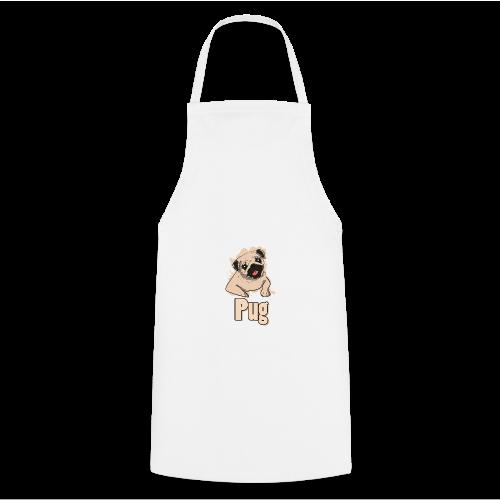 Mops | süß Hund Welpe - Kochschürze