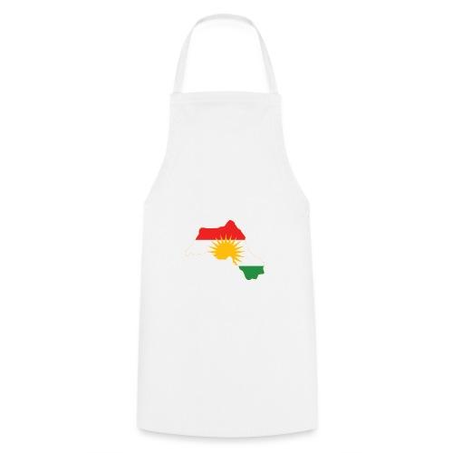 Kurdistan Flag Map - Kochschürze