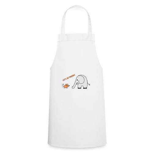 Elephant and mouse, friends - Cooking Apron