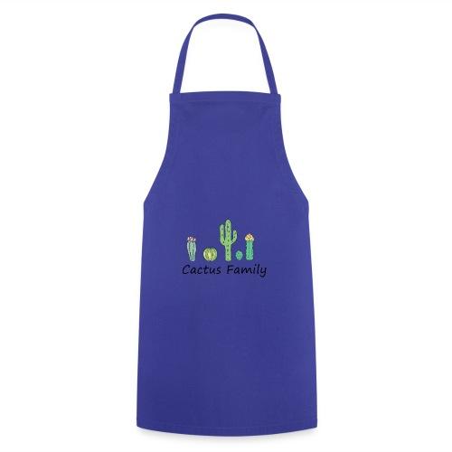 Cactus family - Kochschürze