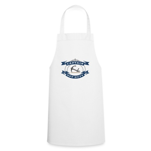 Captain Off Duty - Captain out of service - Cooking Apron