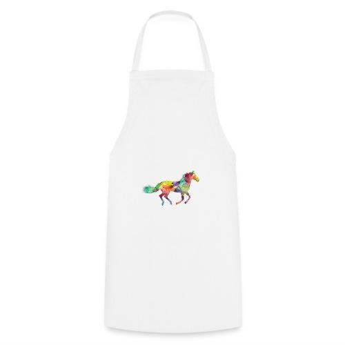 Rainbow Pferd - Kochschürze