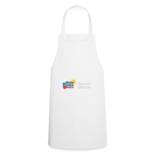 Philippinen-Blog Logo deutsch schwarz/weiss - Kochschürze