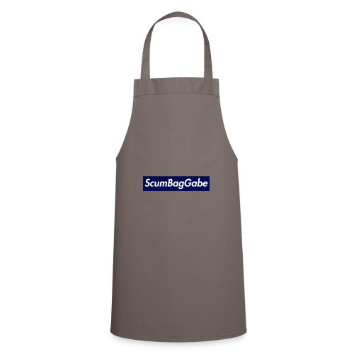 ScumBagGabe Blue XL Logo - Cooking Apron