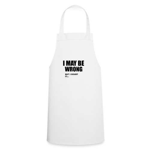 WRONG - Cooking Apron