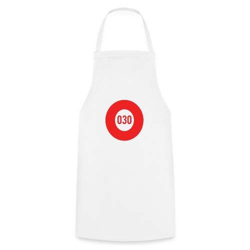 030 logo - Keukenschort