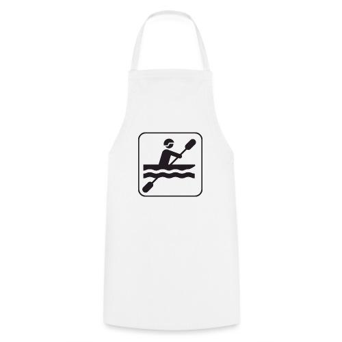 Icono piraguista - Delantal de cocina