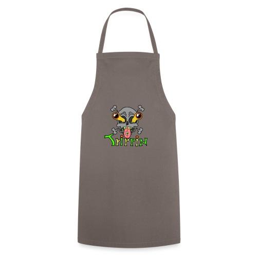 Totenkopf Trippin Design - Kochschürze