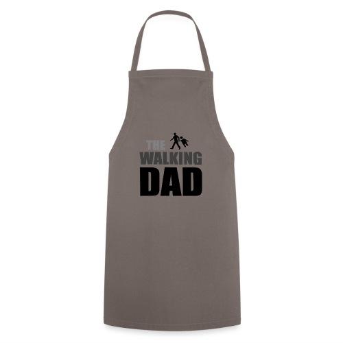the walking dad auf dem Weg in die lustige Bar - Kochschürze