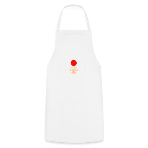 Eventail japonais - Tablier de cuisine
