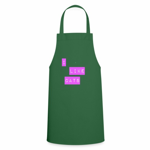 I like cats - Cooking Apron