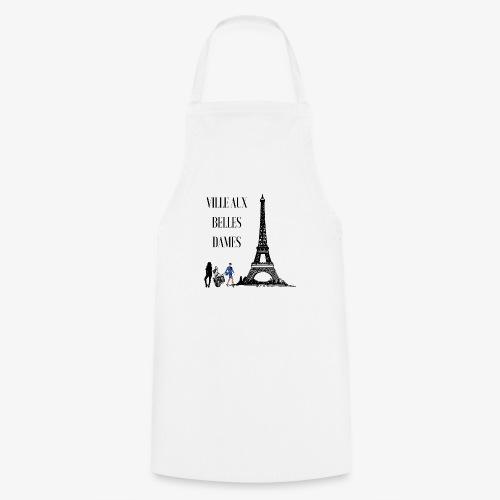 Paris Ville aux belles dames - Tablier de cuisine