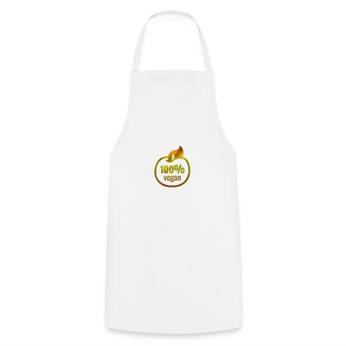 100% vegan - Tablier de cuisine