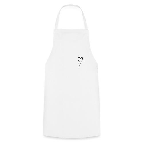 Line Heart - Delantal de cocina
