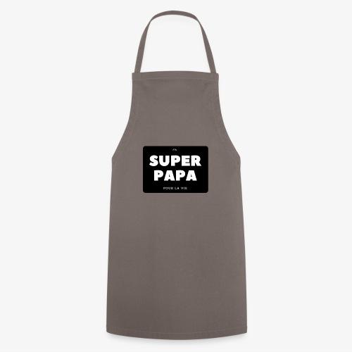 Elu super papa pour la vie - Tablier de cuisine