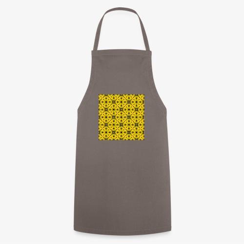 Design motifs jaune et noir - Tablier de cuisine