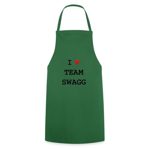 I LOVE TEAMSWAGG - Tablier de cuisine