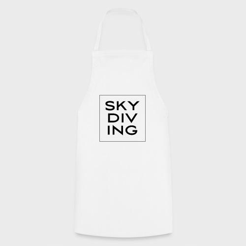 SKY DIV ING Black - Kochschürze