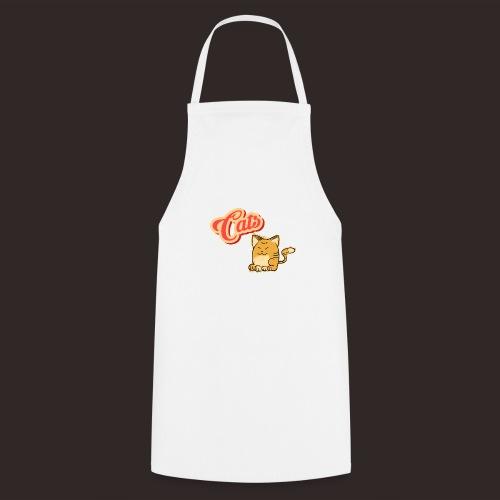 Katze | Katzen süß Schriftzug - Kochschürze