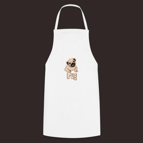 Mops   süß Hund Welpe - Kochschürze