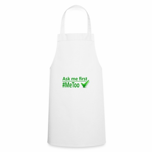 askmefirst logo - Cooking Apron
