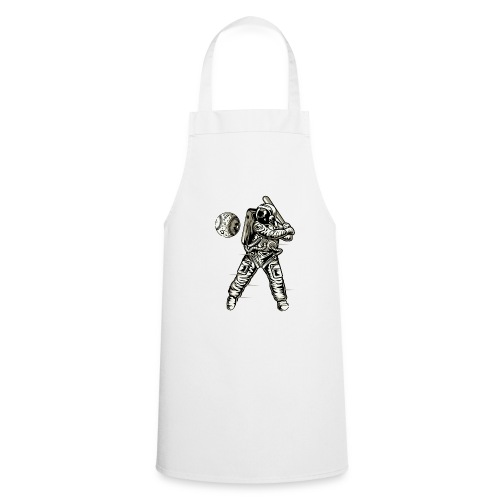 Space Baseball Astronaut - Cooking Apron