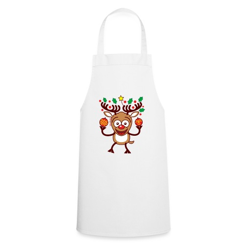 Cool Reindeer Decorating for Christmas - Cooking Apron