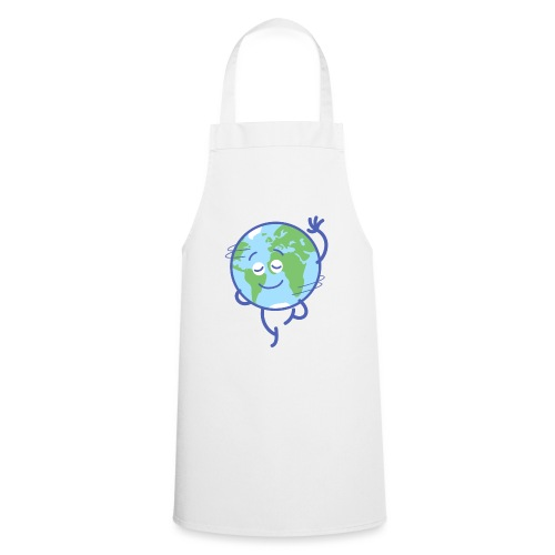 Nice planet Earth rotating graciously - Cooking Apron