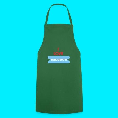 I LOVE BANCOMATTI VerROSSO - Grembiule da cucina