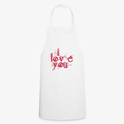 I LOVE YOU - Delantal de cocina