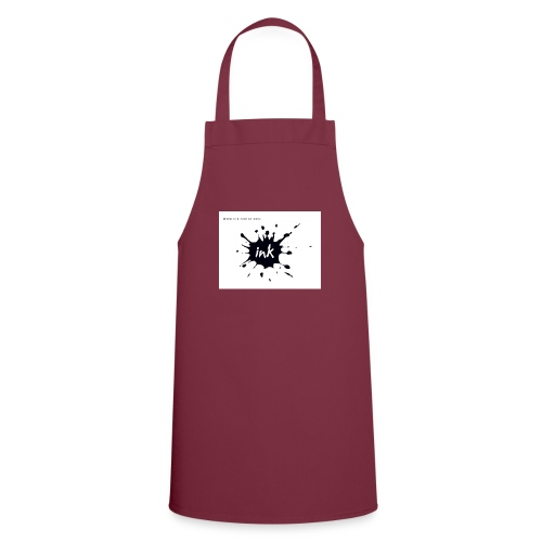 Ink Logo and website - Cooking Apron