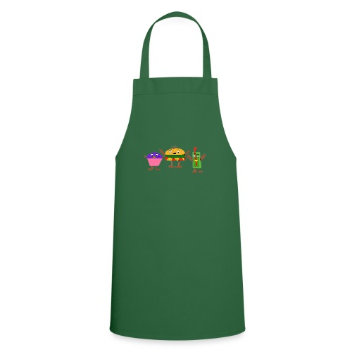 Fast food figures - Cooking Apron