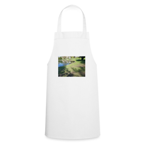 ducks with chicks - Cooking Apron