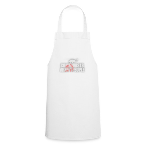 Communists aren't People (White) (No uzalu logo) - Cooking Apron