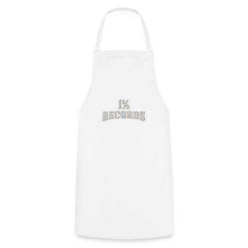 1 Prozent Records Logo - Kochschürze