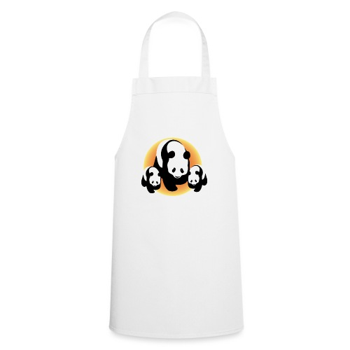 Chineese Panda's - Keukenschort