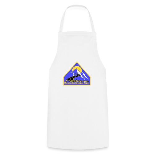 Logo motofree bleu - Tablier de cuisine