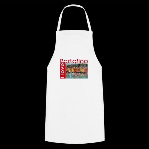 I love Portofino. Italy. - Kochschürze