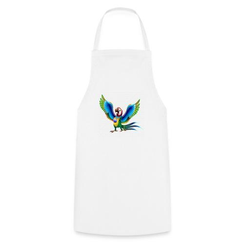 Brazil Flag Papagei - Kochschürze