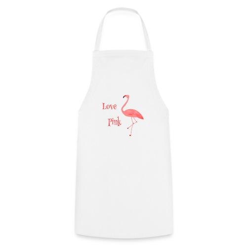 Flamingo - Love Pink - Kochschürze