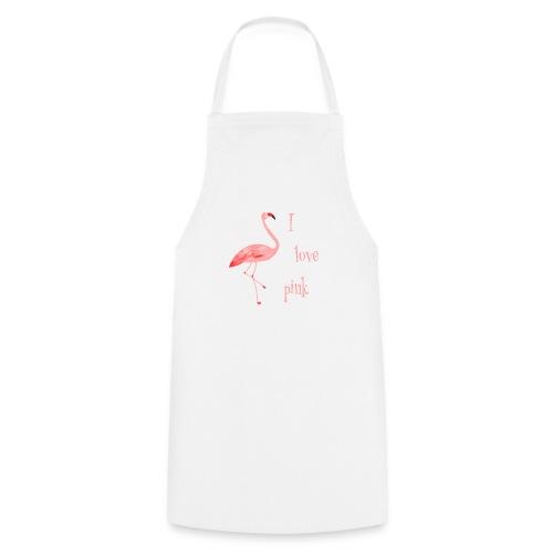Flamingo - I love pink - Kochschürze