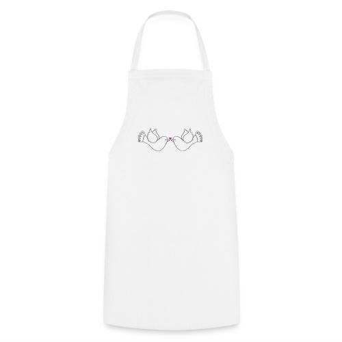 Amour / Saint Valentin / Coeur / Bébé / Love - Tablier de cuisine