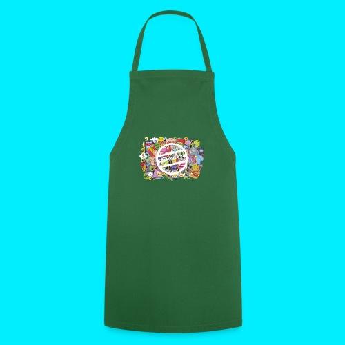 maglia logo doodle - Grembiule da cucina