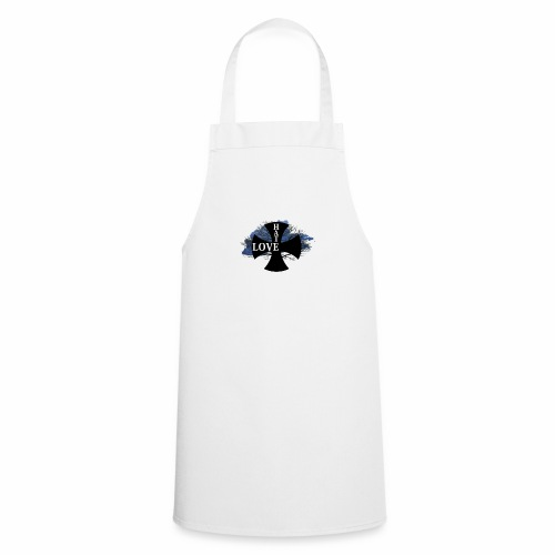 Love hate T SHIRT - Cooking Apron