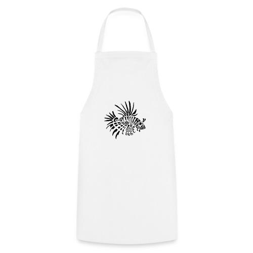 poisson lion - tattoo - Tablier de cuisine